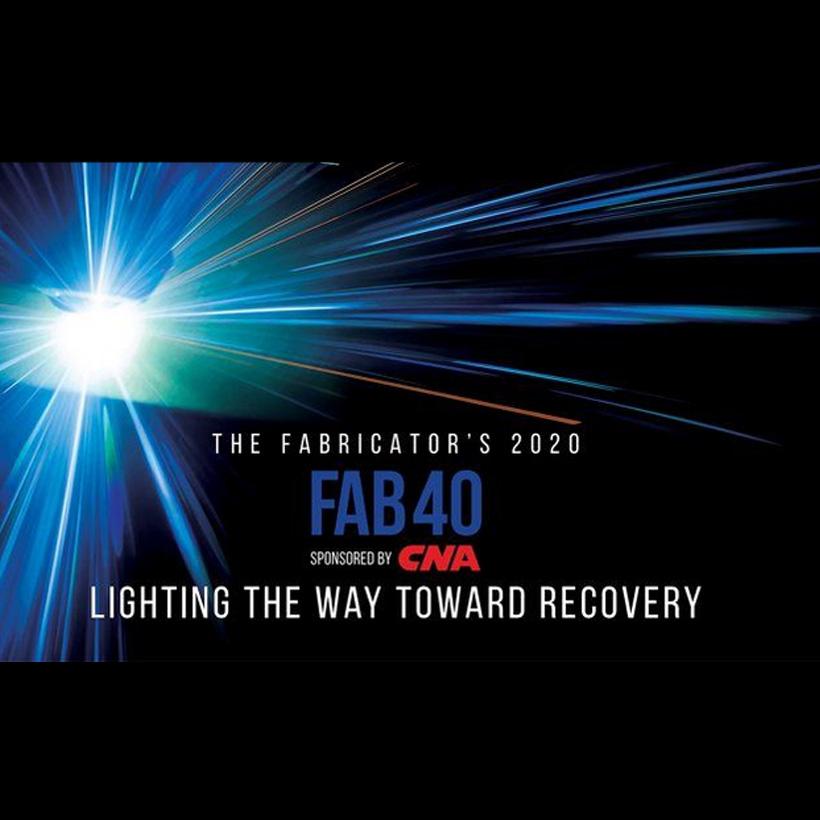 The Fabricator's top 40 Logo